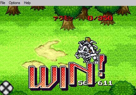 Juegos de digimon para wonder swan 059